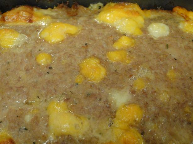 Incredibly Cheesy Turkey Meatloaf. Photo by Wyf42ArmyMen