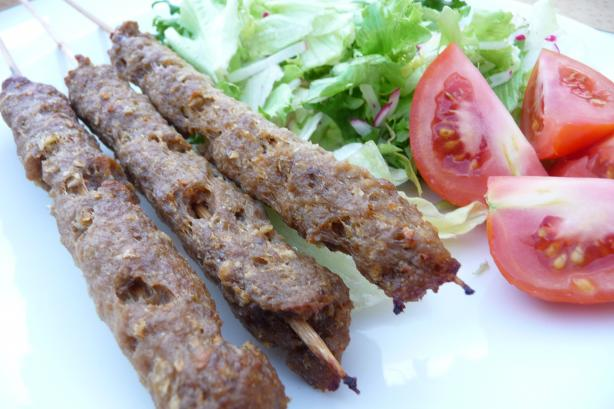 Egyptian Beef Koftas (Ground Beef on Skewers). Photo by Tea Jenny