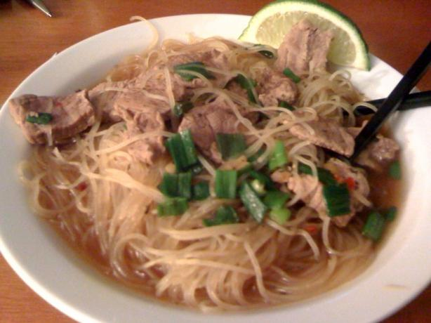Vietnamese Pho With Beef - America&#39;s Test Kitchen. Photo by EmmyDuckie