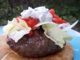 Greek Stuffed Hamburgers