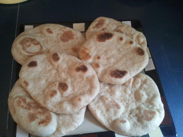 Sourdough Pita Bread. Photo by The_MamaBird