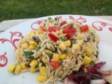 Mediterranean-Style Orzo Salad With Corn