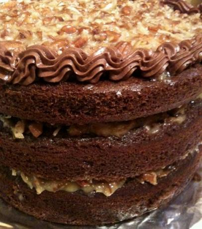 German Chocolate Cake. Photo by Greeny4444