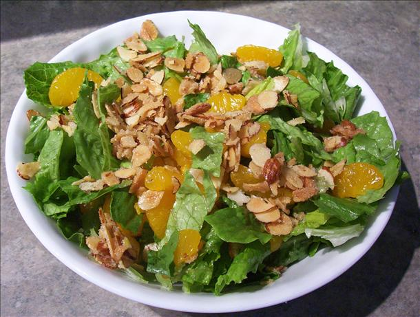 Mandarin Almond Salad. Photo by * Pamela *