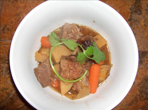 Niku Jaga (Japanese Beef Stew in the Crock Pot). Photo by mersaydees