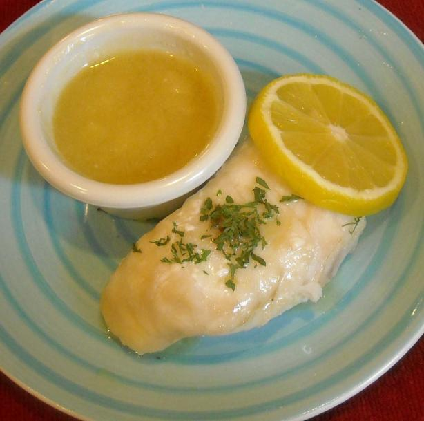 Easy Lemon Butter Sauce for Fish and Seafood. Photo by NorthwestGal