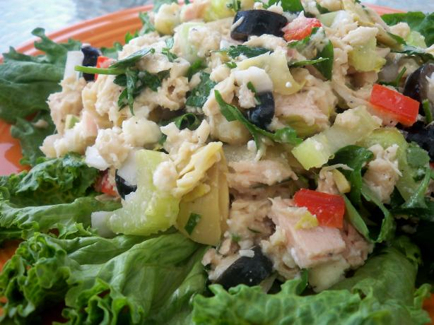 Greek Tuna Salad. Photo by *Parsley*