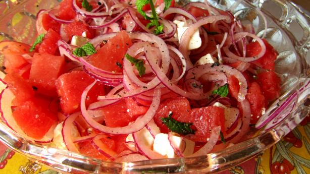 Watermelon  & Feta Salad. Photo by Rita~