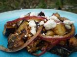 Grilled Eggplant and Feta Cheese Salad (Bobby Flay)