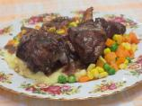 Red Wine and Herb Lamb Shanks
