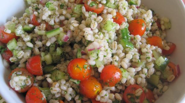 Greek Grain Salad. Photo by magpie diner