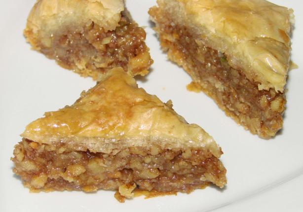 Baklava. Photo by Boomette