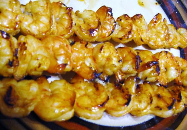 Grilled Shrimp and Pineapple Kabobs. Photo by Kim127