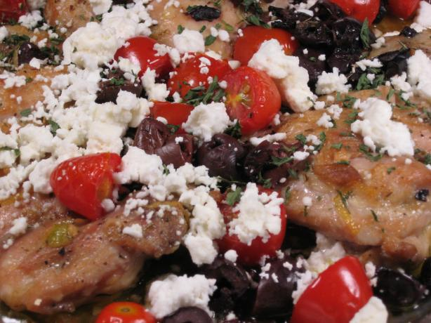 Greek Style Chicken Thighs. Photo by Papa D 1946-2012