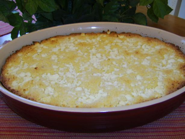 Greek Cornbread With Cheese - Bobota Me Tyri. Photo by LifeIsGood