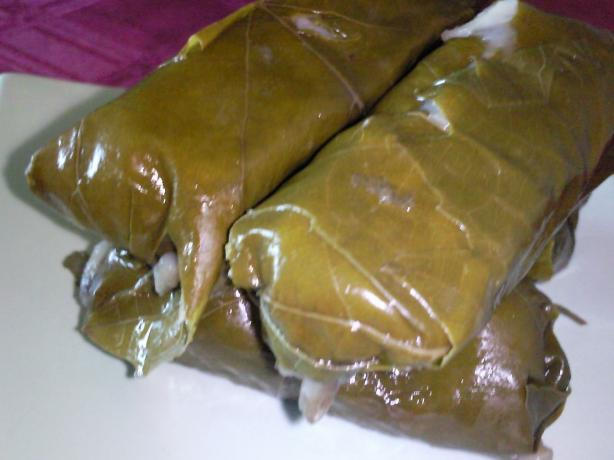 Stuffed Grape Leaves - Warak Einab. Photo by Coasty