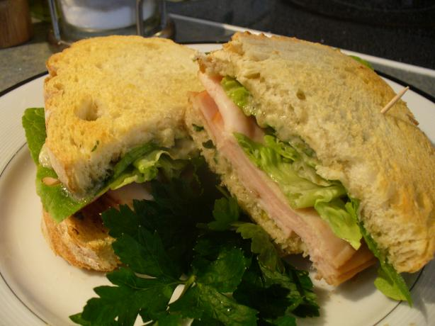 Smoked Turkey and Stilton Sandwich. Photo by IngridH