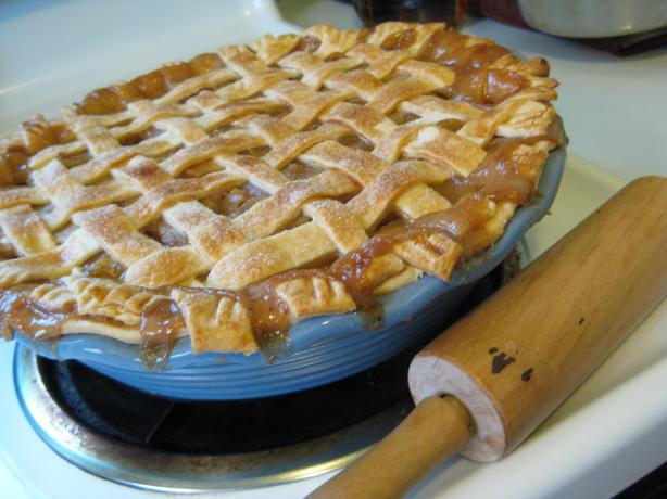 Bourbon Apple Pie. Photo by Poorogies