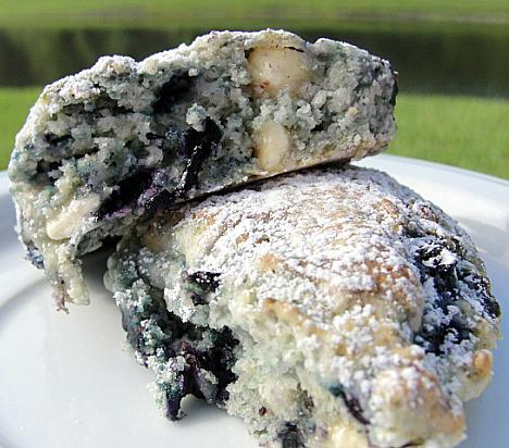 White Chocolate Blueberry Scones. Photo by diner524