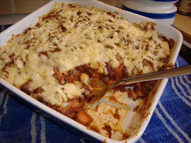 Chili dog Casserole. Photo by Tasty Tidbits
