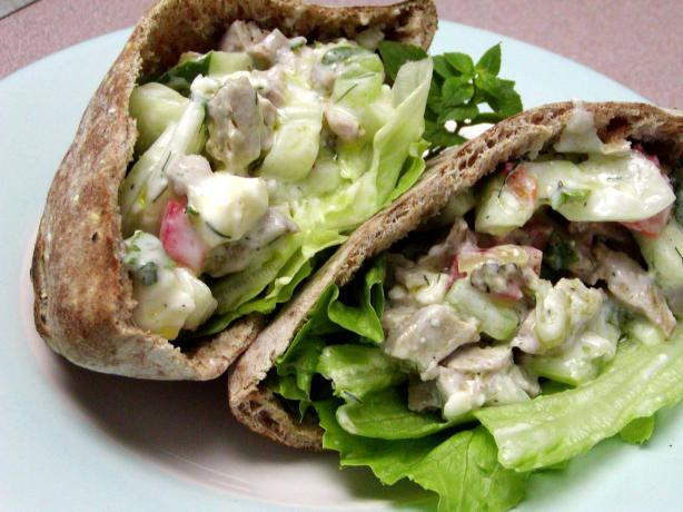 Turkey Pita Sandwich. Photo by Rita~