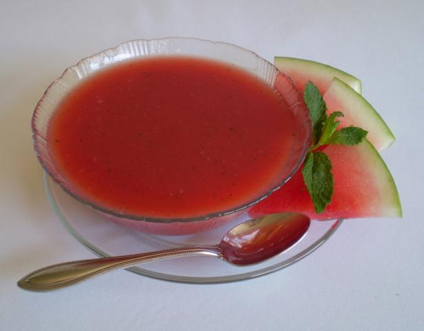 Watermelon Soup. Photo by TasteTester