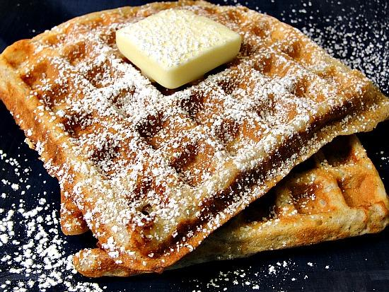 Cinnamon Apple Waffles. Photo by diner524