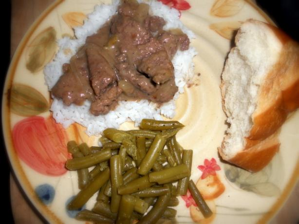 Crock Pot Herbed Round Steak. Photo by twinfish9