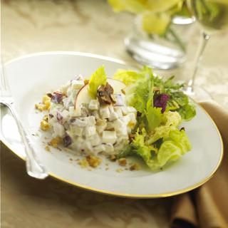 Waldorf Salad With Fresh Goat Cheese. Photo by Corrinne J