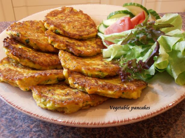Vegetable Pancakes. Photo by Hanka