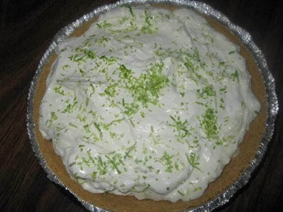 Easy Key Lime Pie. Photo by Ackman
