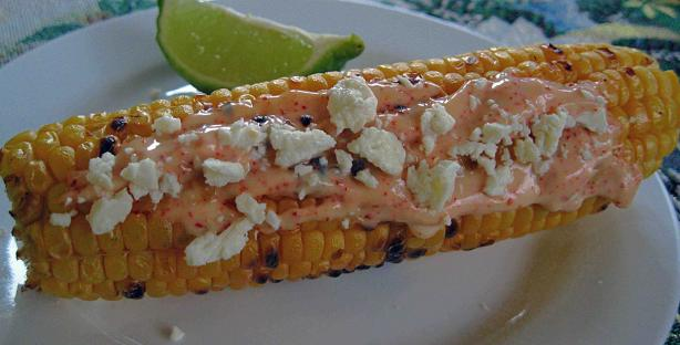 Mexican Grilled Corn on the Cob. Photo by WiGal