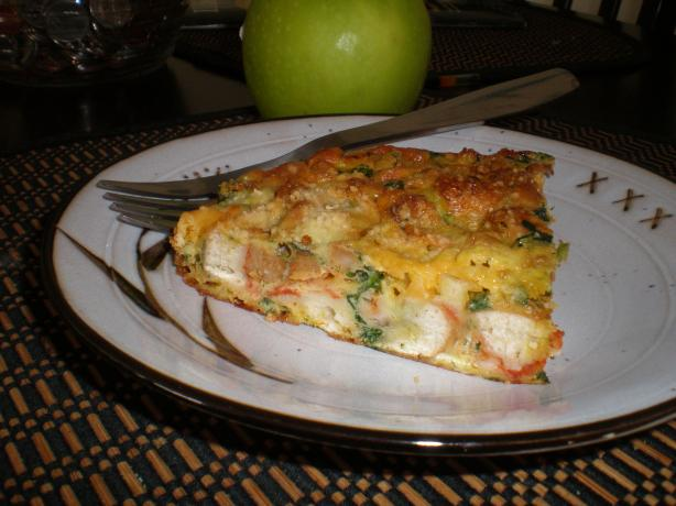 Leftover Pizza Frittata (Using Leftover Pizza!). Photo by Tlharin