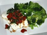 Grilled Halibut With Tomato-Basil Salsa