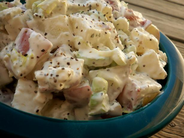 True-Blue Potato Salad. Photo by *Parsley*