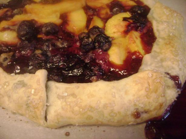 Blueberry and Peach Galette. Photo by csingleton24