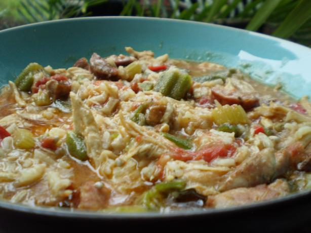 Chicken Okra Sausage Gumbo. Photo by breezermom