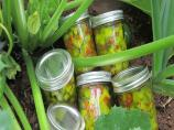 Zucchini Relish Sweet and Tangy