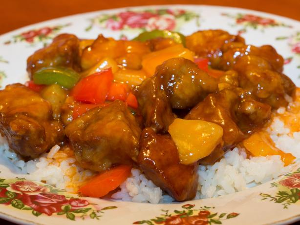 Sweet and Sour Pork. Photo by Peter J