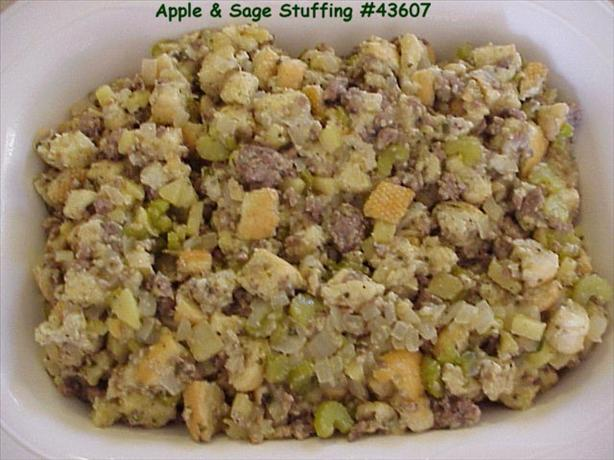 Apple and Sage Stuffing. Photo by Chippie