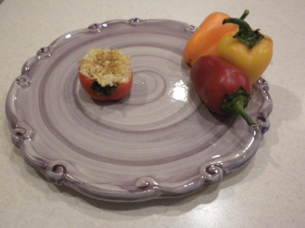 Cheese Stuffed Mini Sweet Peppers. Photo by JudyJudyJudee