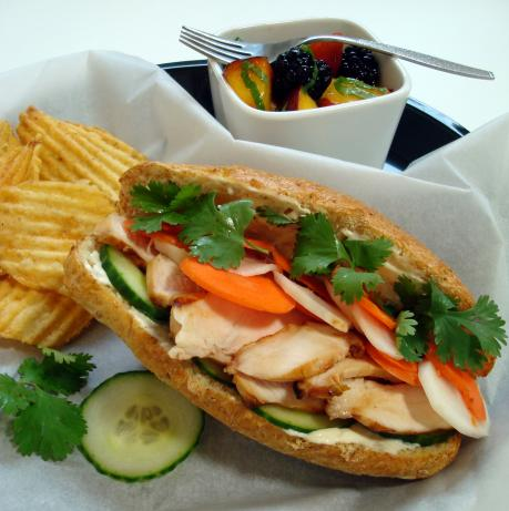 Grilled Chicken Banh Mi. Photo by spicyperspective