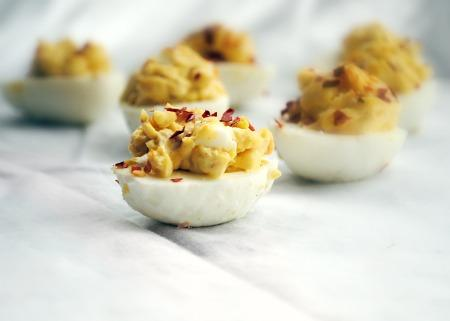 4-Pepper Deviled Eggs(Alton Brown). Photo by Andi of Longmeadow Farm