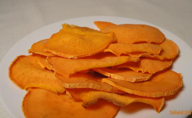The Realtor's Baked Sweet Potato Chips. Photo by Debbwl