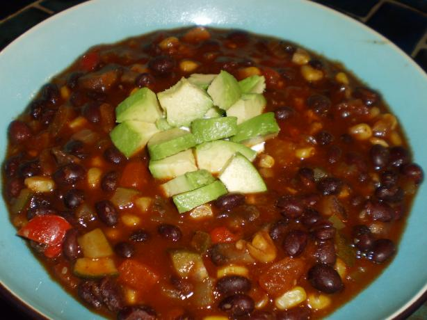 Vegetarian Chili(Emeril Lagasse). Photo by breezermom