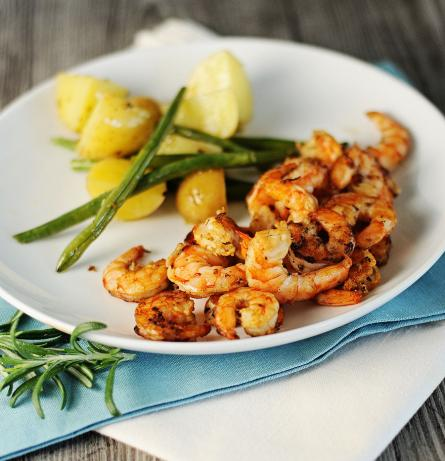 Grilled Lime Shrimp. Photo by Dine & Dish
