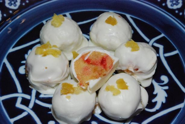 Cakeballs - Pineapple Upside Down Cake. Photo by MizEmerilLagasse