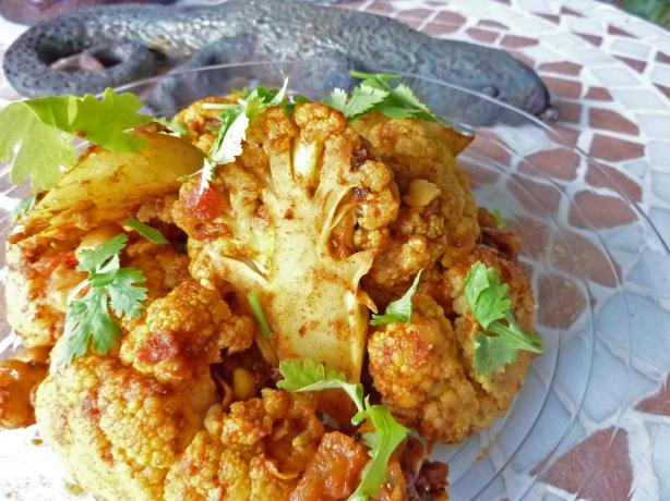 Cauliflower Curry. Photo by awalde