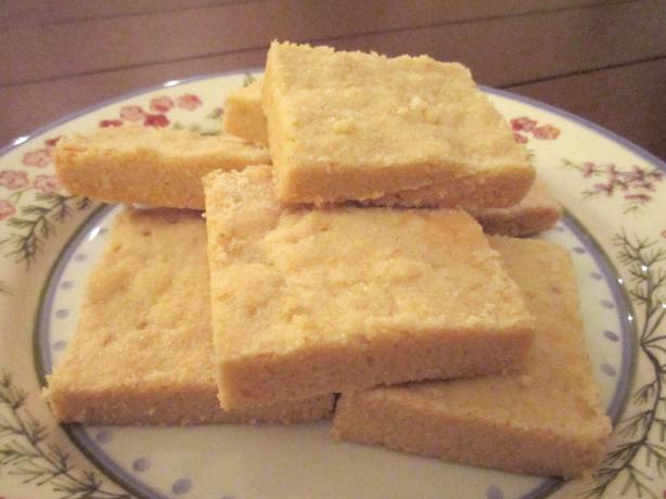 Super-Easy Shortbread (3 Ingredients). Photo by TapestryThreads