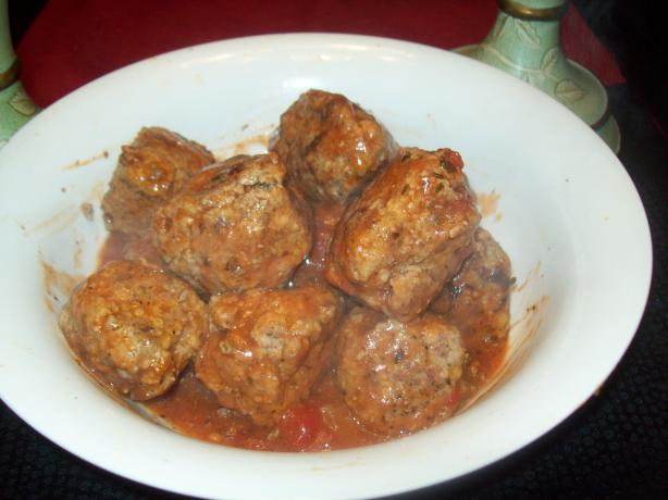 Deer (Meat)balls. Photo by David04